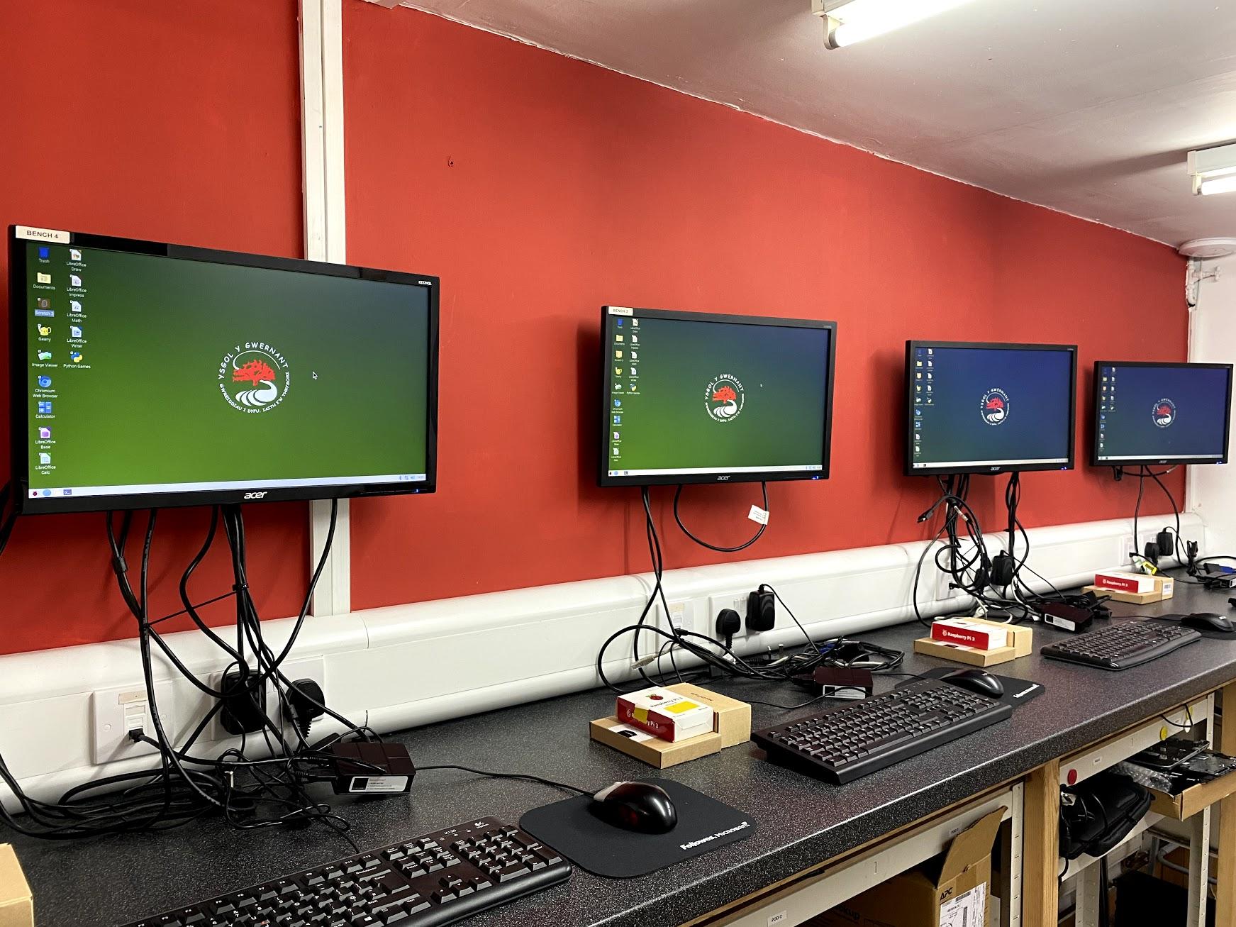 IT-Pro donates Raspberry Pi computers to Ysgol y Gwernant